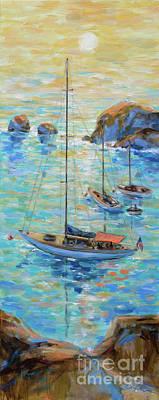 Painting - Branta At Catalina by Linda Olsen