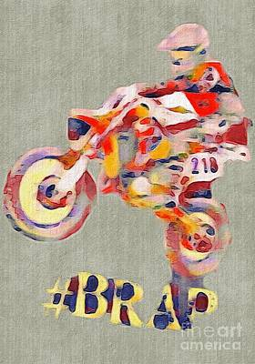 Digital Art - Brap by Whitney Tomlin
