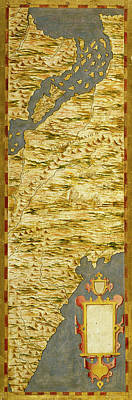 Amazon River Painting - Brasil And The Amazon River by Italian painter of the 16th century