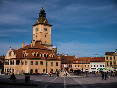 Photograph - Brasov Council Square by Rae Tucker