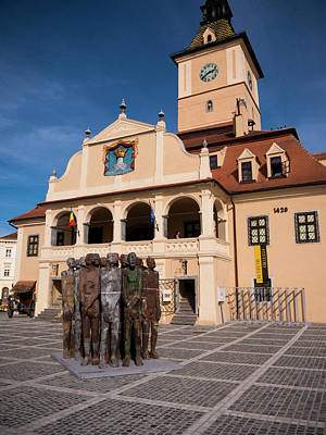 Photograph - Brasov Town Hall by Rae Tucker