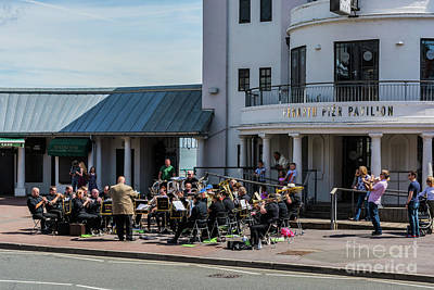 Photograph - Brass Band At The Pier by Steve Purnell