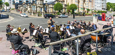 Photograph - Brass Band Panorama by Steve Purnell