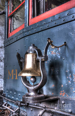 Photograph - Brass Bell On The M-1 Motorcar by ELDavis Photography
