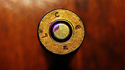 Photograph - Brass Bullet Lc66 by Colleen Kammerer