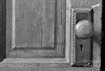 Photograph - Brass Door Knob by Debby Pueschel