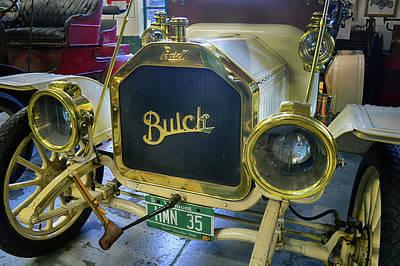 Photograph - Brass Era Buick by Bill Dutting