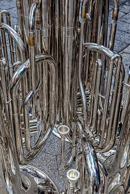 Brass Instruments Art Print by Robert Ullmann