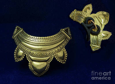 Jewelry - Brass Moroccan Ponytail Holder by Melany Sarafis