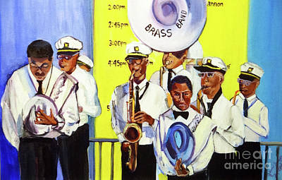 Painting - Brass Of  Class New Orleans by Ecinja Art Works