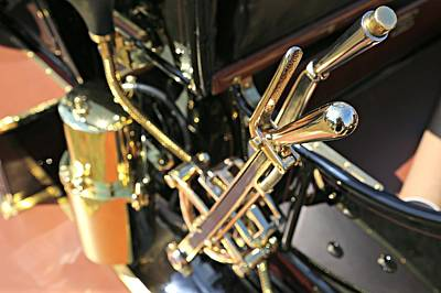 Photograph - Brass Shifter by Steve Natale