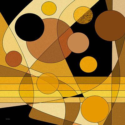 Digital Art - Brass by Val Arie