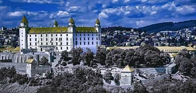 Slovakia Painting - Bratislava Castle by Celestial Images