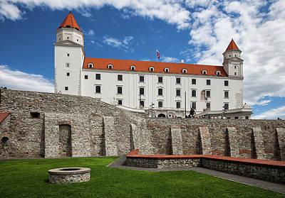 Photograph - Bratislava Castle In Slovakia by Artur Bogacki