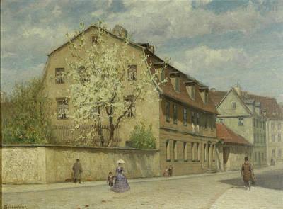 Braune Weimar Art Print by Christoph Martin Weiland