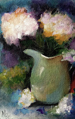 Painting - Bravado Of Color - Florals by Michele Carter