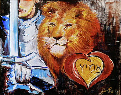 Painting - Brave Heart by Jennifer Page