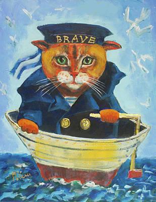 Painting - Brave by Maxim Komissarchik