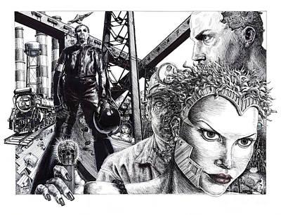 Brave New World Art Print by Adesina Sanchez