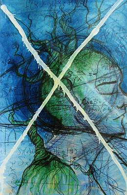 Messy Mixed Media - Brave Soul by Holly Magar