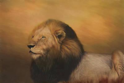 Photograph - Braveheart Lion 2.0 by Kay Kochenderfer