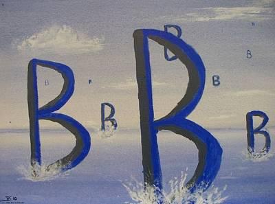 Painting - Bravo by Rod Schneider