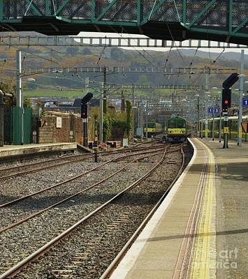 Bray Dart Station # 1 Art Print by Poet's Eye
