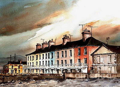 Painting - F 804 Bray... Martello Terrace by Val Byrne