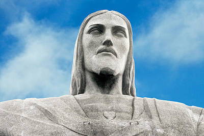 Photograph - Brazilian Christ by Kim Wilson