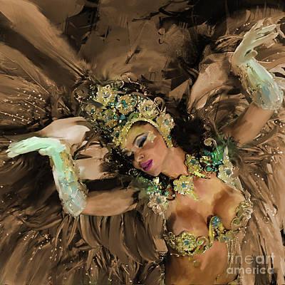 Brazilian Festival Dance 01 Original by Gull G