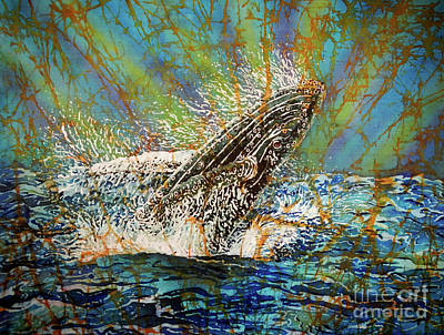 Painting - Breach In The Bay by Sue Duda