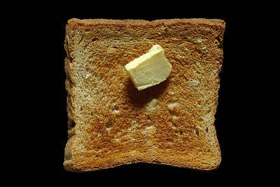 Bread And Butter Art Print by Frank Tschakert
