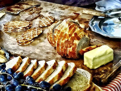 Bread And Butter Art Print