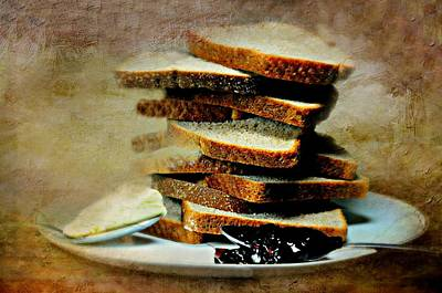 Photograph - Bread Butter And Jelly by Diana Angstadt