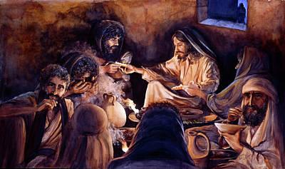 Wall Art - Painting - Bread Of Heaven by Nancy Delgado