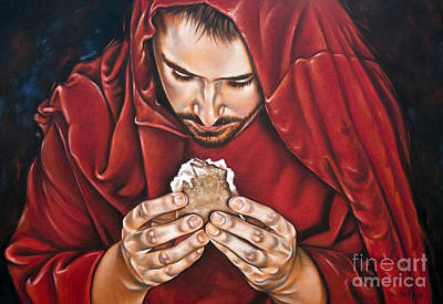 Bread Of Live Art Print by Ilse Kleyn