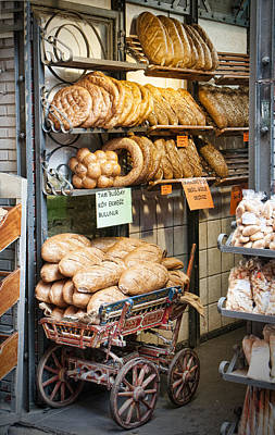 Breads For Sale Art Print