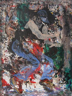 Painting - Break Dancin' In The Rain by Penfield Hondros