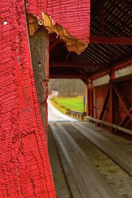 Photograph - Break In The Bridge by Jeff Kurtz