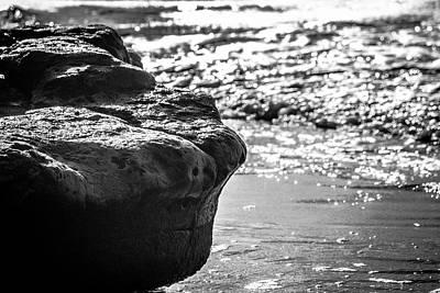 Photograph - Break In The Waves by Randy Bayne