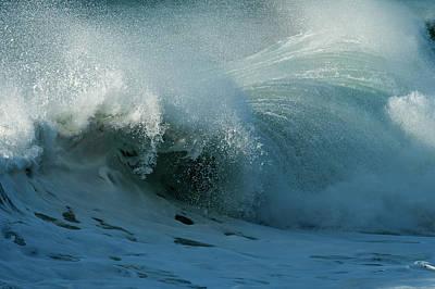 Photograph - Break Of A Wave by Robert Potts