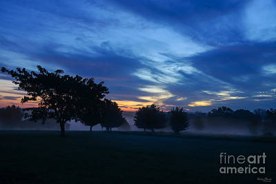 Photograph - Break Of Dawn And Fog by Jennifer White