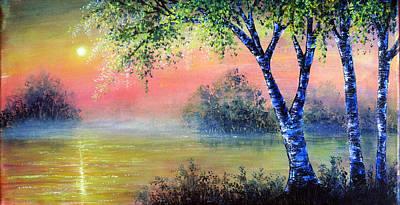 Acrylic Painting - Break Of Dawn by Ann Marie Bone