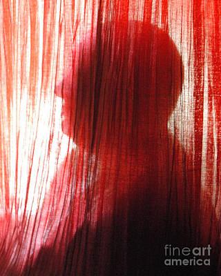 Break Through 04 - Other Side Profile Art Print by Sean-Michael Gettys