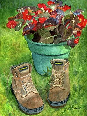 Painting - Break Time by Lynne Reichhart