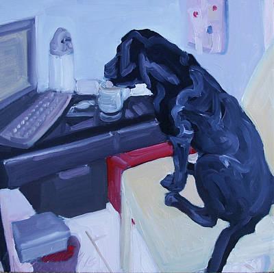 Painting - Break Time by Sheila Wedegis