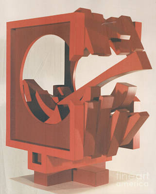 Sculpture - Breakaway by Robert F Battles