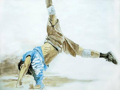 Usa Painting - Breakdance 2 / Part Of Dubai Street Festival Collection by Jani Heinonen