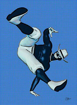 Keith Richards - Break dancing  by Quim Abella