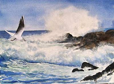 Painting - Breakers  by Bobby Walters